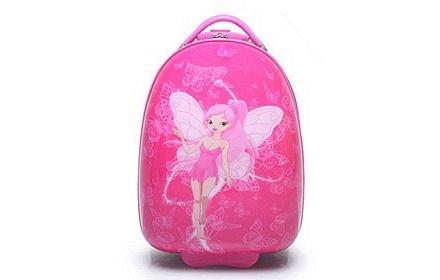 卡通蝴蝶仙子儿童拉杆箱