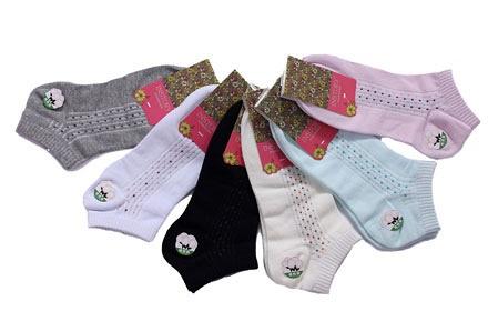 棉袜子编织花样图片