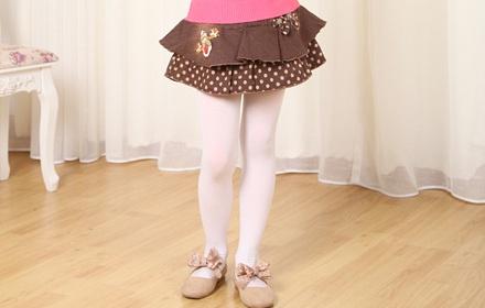 公主裙儿童短裙子,纯手工蝴蝶结