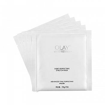 美国•Olay水感透白光塑钻纹弹力面膜 24g*5片