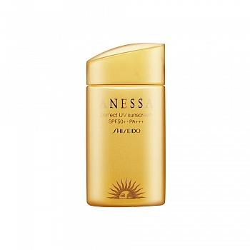 资生堂 (Shiseido)安热沙防晒露(N)(SPF30+.PA+++ 新款金防晒) 60ml