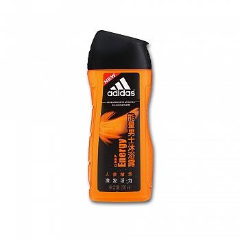阿迪达斯 (Adidas)能量男士沐浴露   250ml