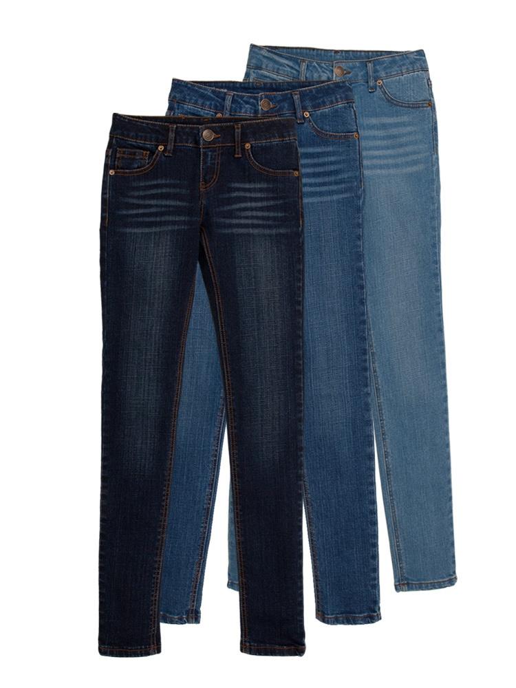 黑白能量 牛仔裤蓝色3133-b