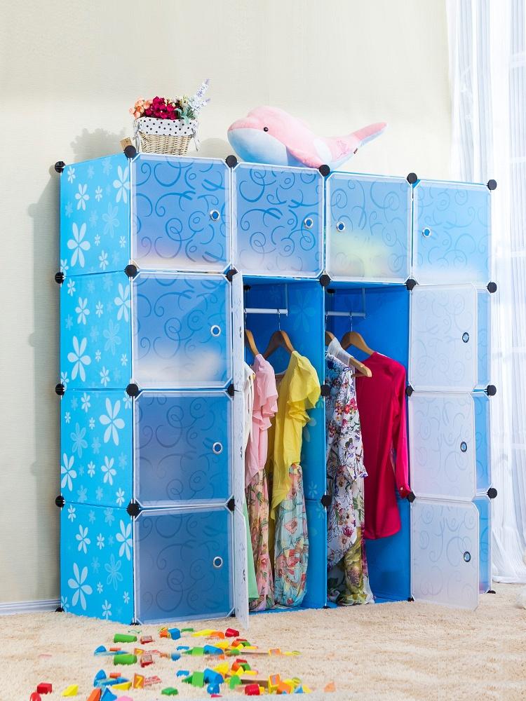 2列简易衣柜安装步骤图