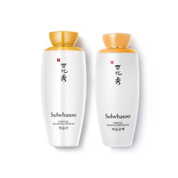 韩国•雪花秀滋盈肌本平衡水乳套装(平衡水125ml+平衡乳125ml)