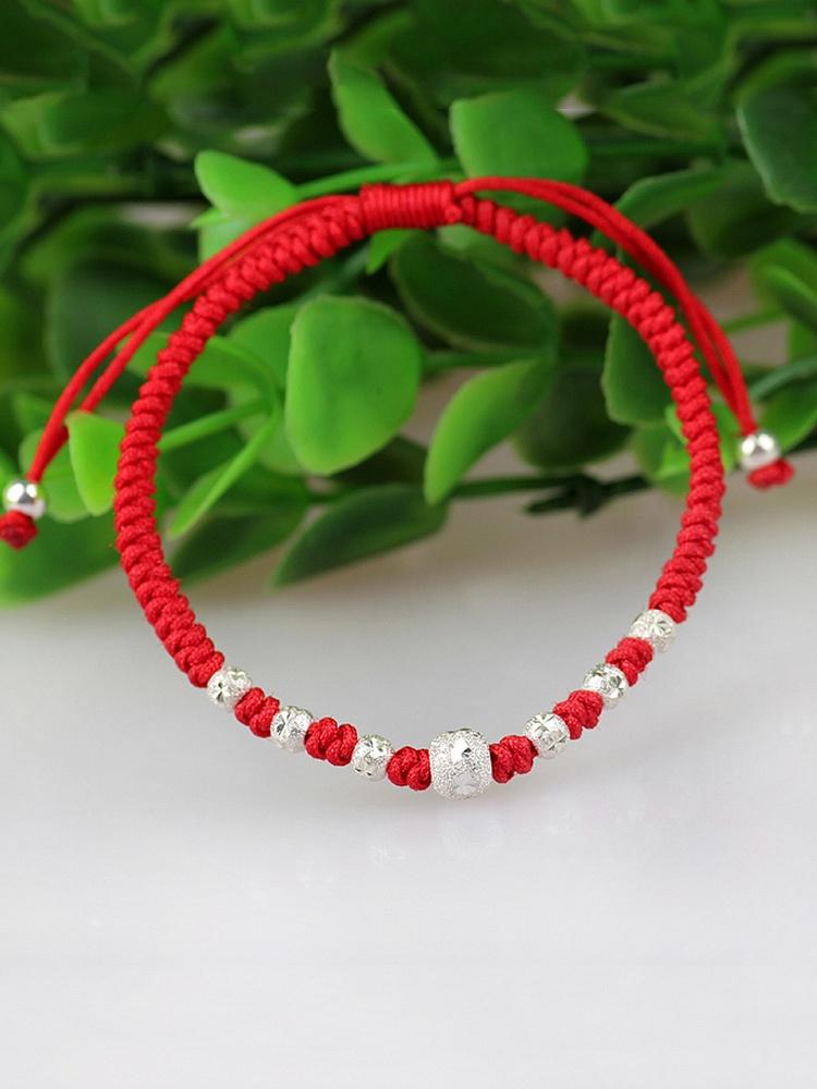 【图】转运珠红绳手链编法你知道吗