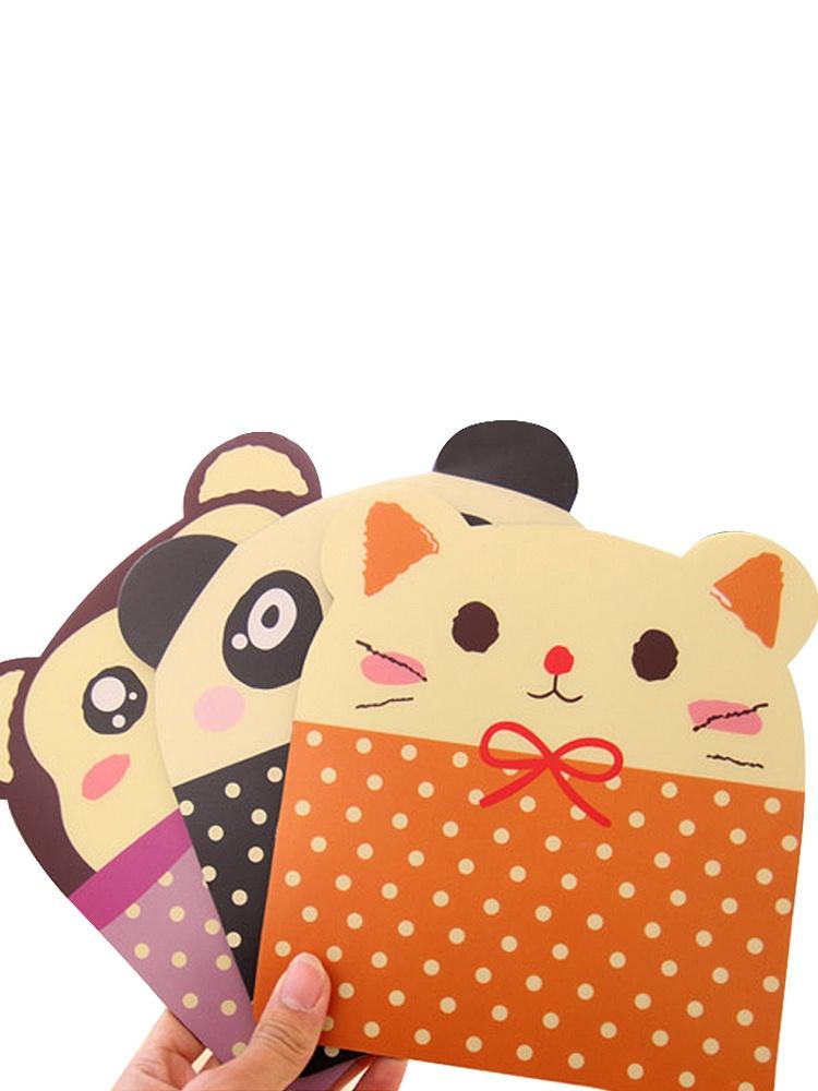 韩国可爱卡通萌动物超大造型个性创意动漫pvc鼠标垫
