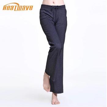 热浪 时尚舒适弹力瑜伽长裤