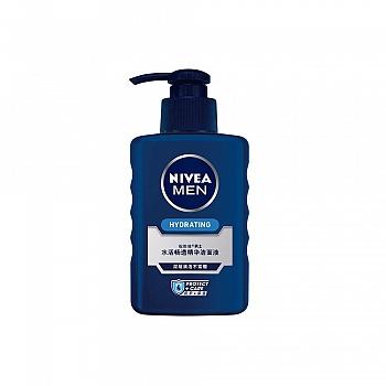 德国•妮维雅(NIVEA)男士水活畅透精华洁面液150ml/150g
