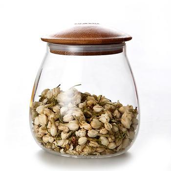 物生物蘑菇玻璃储物罐 1000ml