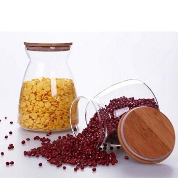 中国•密封透明罐储玻璃物罐