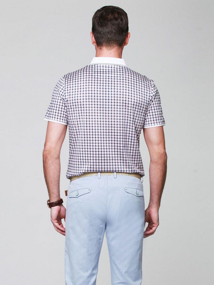 夏季商务男装短袖polo衫图片