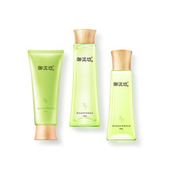 中国•御泥坊银杏亮采基础护肤套装(洁面+水+乳液)