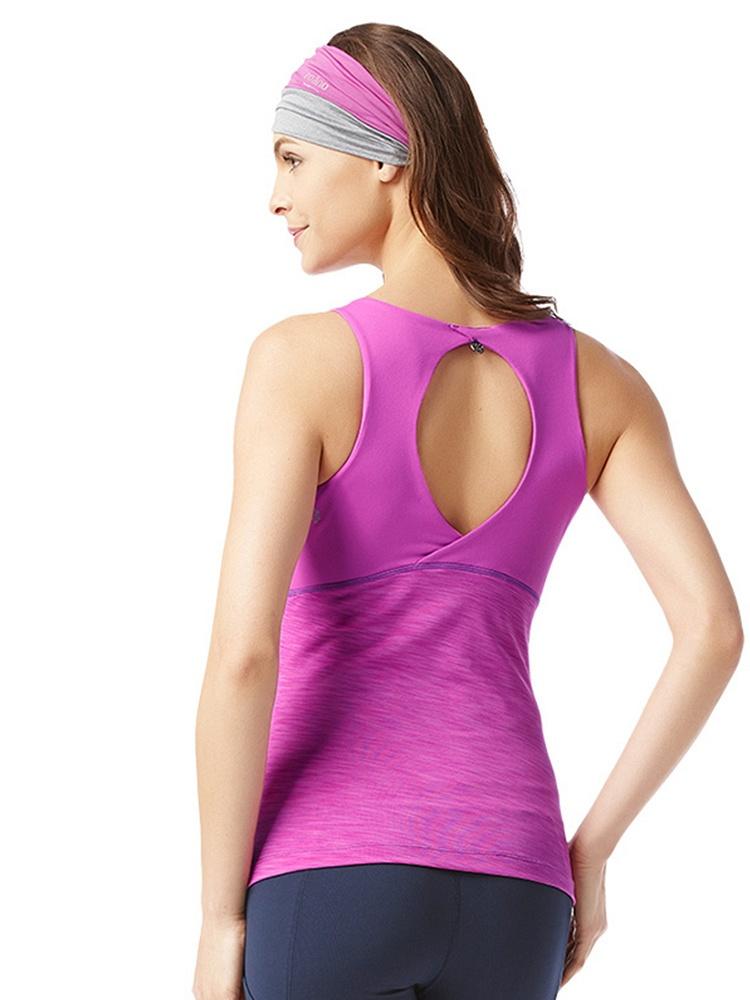 无袖好感上衣女式瑜伽服吊带-聚美优品-最大化脓性多久可以背心染图片
