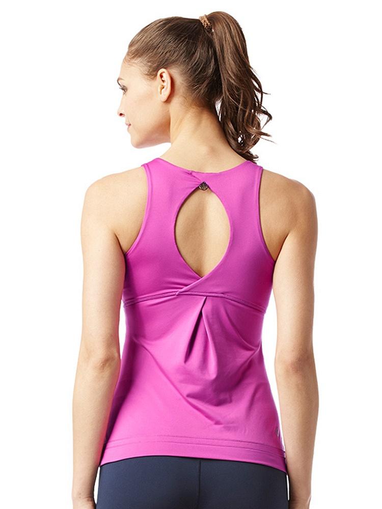 v紧身紧身无袖瑜伽服背心上衣-聚美优品-最大臀肥性感美女图片