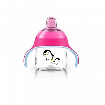 英国•飞利浦新安怡七安士卡通企鹅杯(粉、蓝)颜色随机发放 SCF751/12