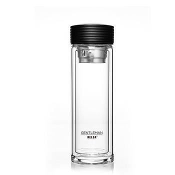 物生物慕尚双层玻璃杯男女水杯