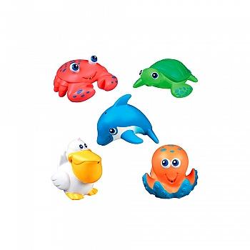 美国•munchkin 满趣健 海洋动物喷水玩具(适合九个月以上宝宝使用)