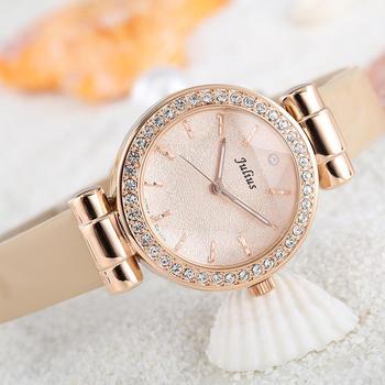 聚利时休闲五星折射系列女士手表