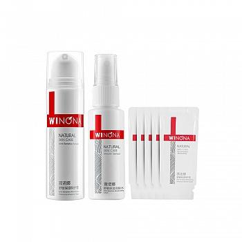 薇诺娜敏感肌舒敏特护套装(舒敏保湿特护霜15g+舒敏保湿润肤水30ml+舒敏保湿特护霜2g*5)