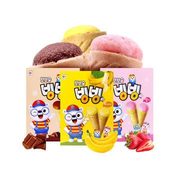 韩国九日冰淇淋形饼干53.4g*2盒