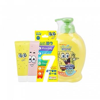 美国?海绵宝宝 (SpongeBob)手部温馨呵护组合