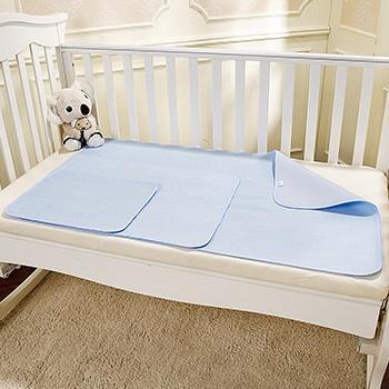 澳斯贝贝婴儿竹纤维隔尿垫大号蓝