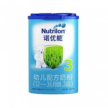 荷兰•Nutrilon诺优能幼儿配方奶粉(12-36个月龄,3段)800g