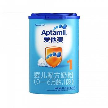 德国•Aptamil爱他美婴儿配方奶粉(0-6个月龄,1段)800g