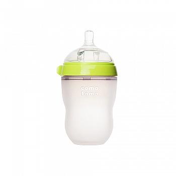 韩国•comotomo可么多么硅胶奶瓶250ml 绿色