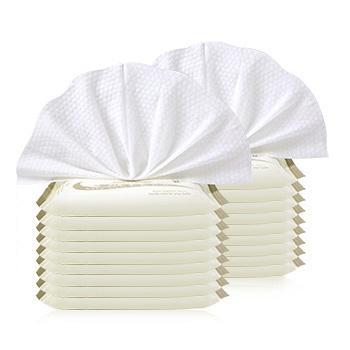 澳斯贝贝 婴儿10抽*18包手口湿巾 便携装