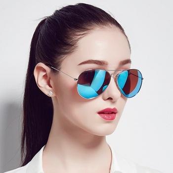 中国•三氏太阳镜偏光镜飞行镜炫彩墨镜