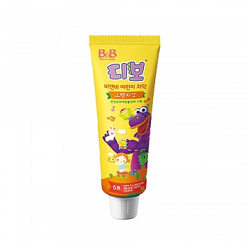 韩国•保宁(B&B)幼儿牙膏(橙子香型)