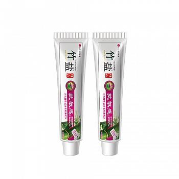 韩国•LG竹盐 精品抗敏感牙膏150g(温雅薄荷)*2