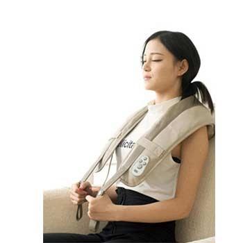 中国•经济实惠家用型卡其色按摩披肩