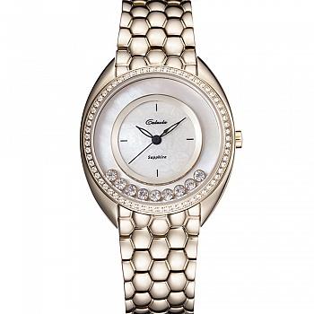 中国•卡罗莱女士手表钢带手链石英腕表