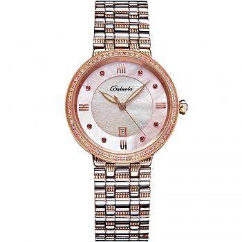 中国•卡罗莱石英表女士手表钢带镶钻
