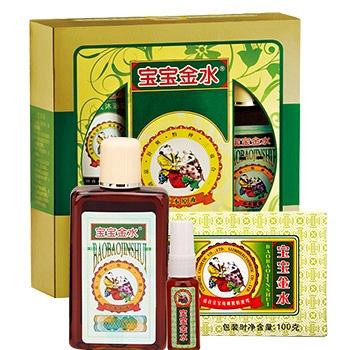 中国•宝宝金水亲子装家庭装组合