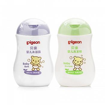 贝亲婴儿洗发精+沐浴露套装(洗发精200mlIA108+沐浴露200mlIA111)