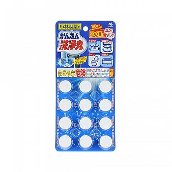 日本•小林制药 排水管清道夫(常规装)12片
