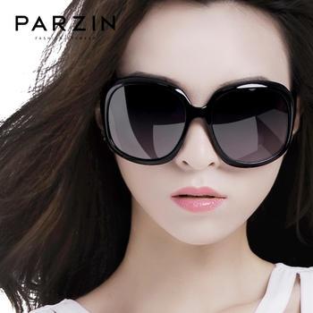 帕森太阳镜 女时尚复古偏光镜大框驾驶潮墨镜女