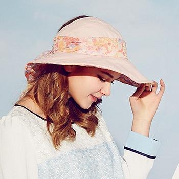 中国•女夏天大沿空顶帽防晒帽
