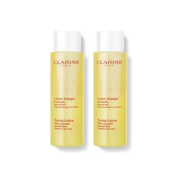 法国•娇韵诗 (Clarins)温和化妆水/柔肤水200ml*2