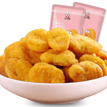 口口福蟹黄蚕豆188g 营养酥脆 休闲美味
