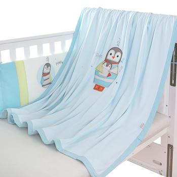 澳斯贝贝 婴儿针织棉多用毯