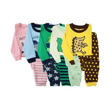 Minizone春秋儿童家居服套装睡衣