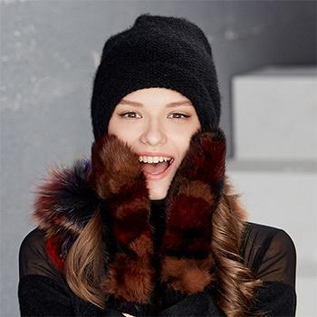 kenmont女冬季户外羊毛连指手套2806