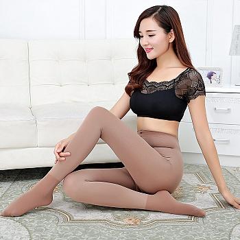 中国•赛棉冬加厚保暖加档防勾丝连裤袜
