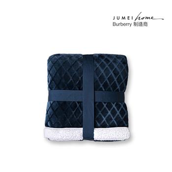 中国•聚美优选羊羔绒法兰绒双面毛毯(150*180cm)
