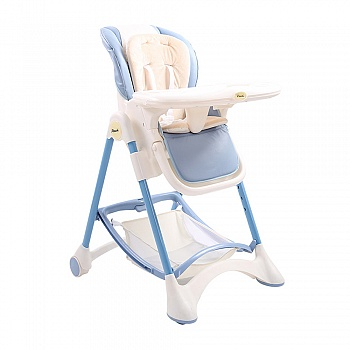 Pouch多功能可平躺儿童餐椅K05浅蓝